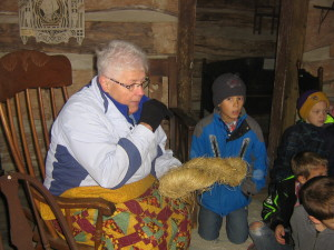 Making straw logs